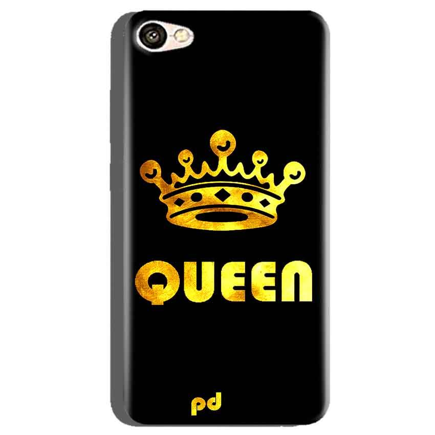 Oppo A71 Mobile Covers Cases Queen With Crown in gold - Lowest Price - Paybydaddy.com