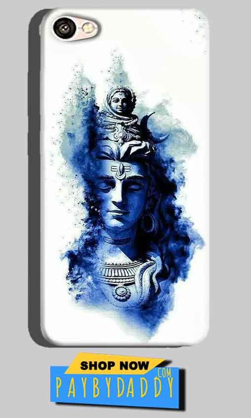Oppo A71 Mobile Covers Cases Shiva Blue White - Lowest Price - Paybydaddy.com