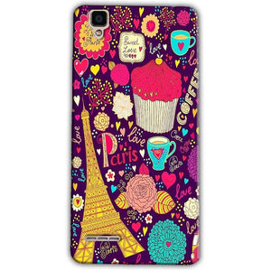 Oppo F1 Mobile Covers Cases Paris Sweet love - Lowest Price - Paybydaddy.com