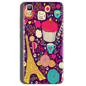 Oppo F1 Plus Mobile Covers Cases Paris Sweet love - Lowest Price - Paybydaddy.com