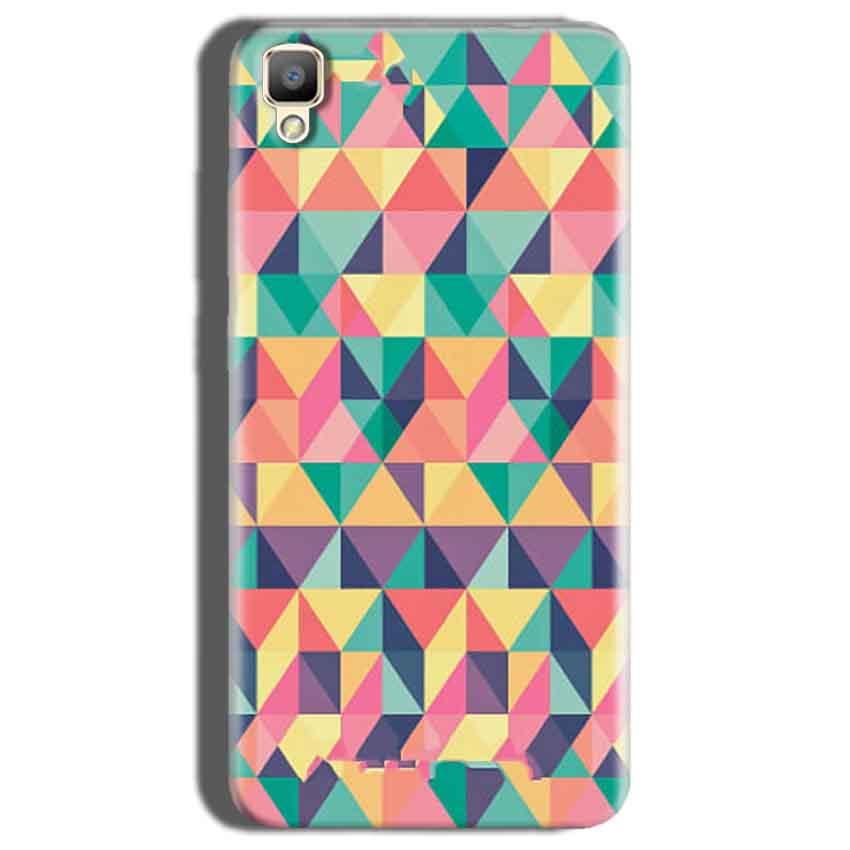 Oppo F1 Plus Mobile Covers Cases Prisma coloured design - Lowest Price - Paybydaddy.com