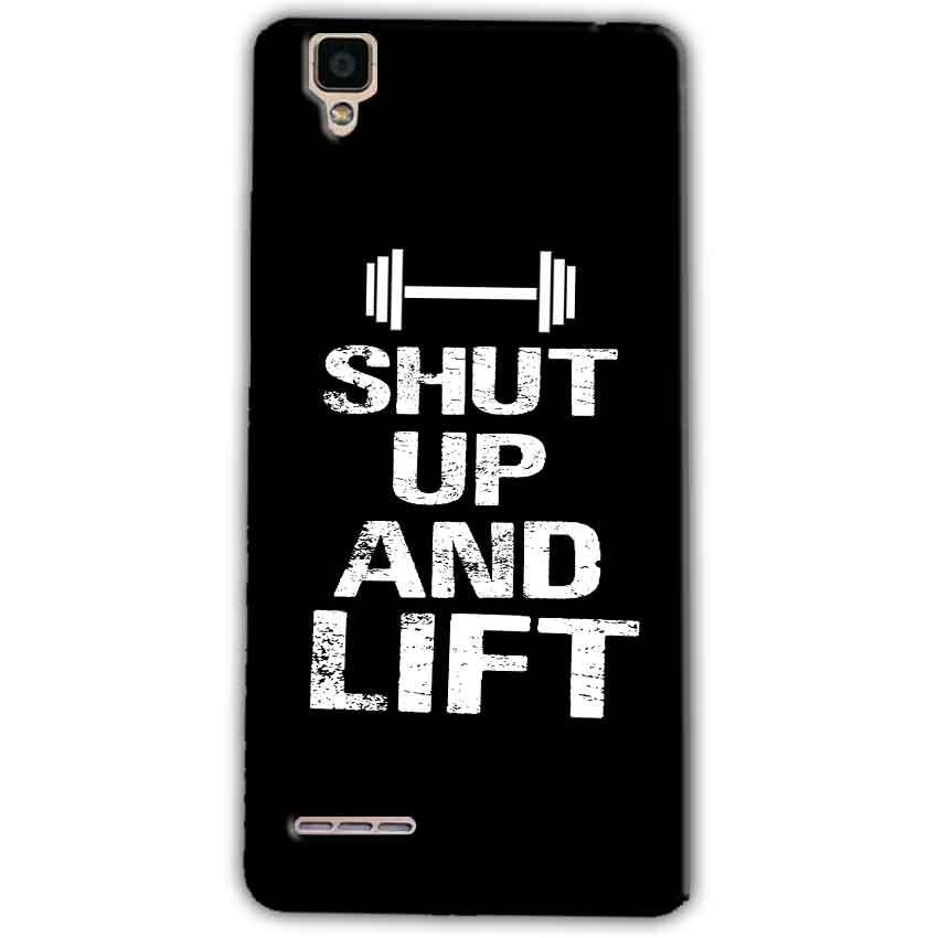 Oppo F1 Mobile Covers Cases Shut Up And Lift - Lowest Price - Paybydaddy.com