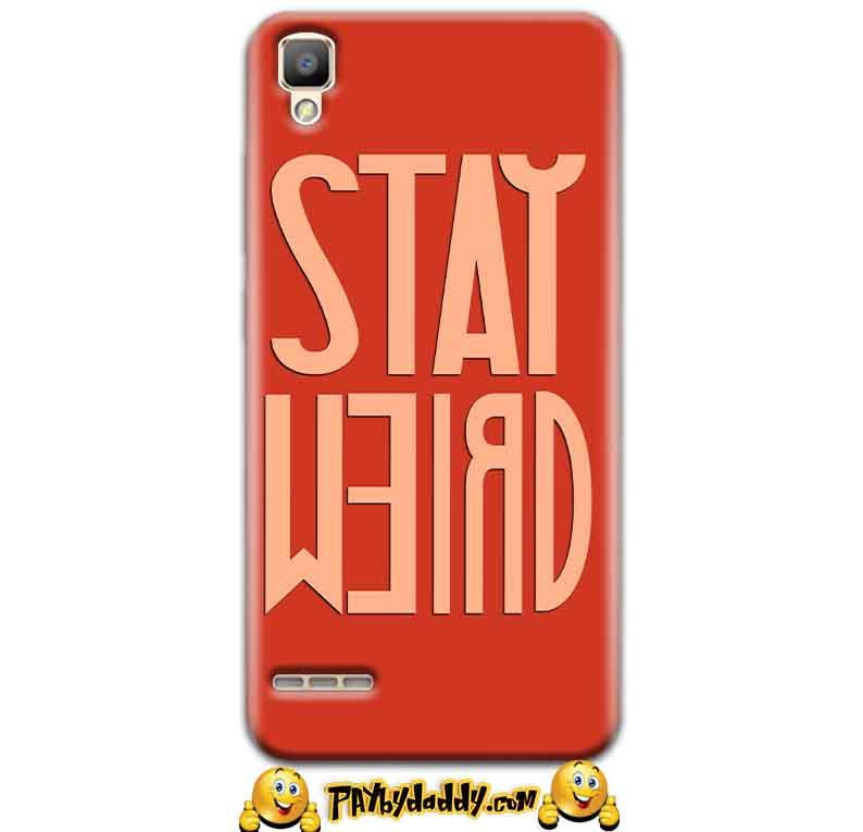 Oppo F1 Mobile Covers Cases Stay Weird - Lowest Price - Paybydaddy.com