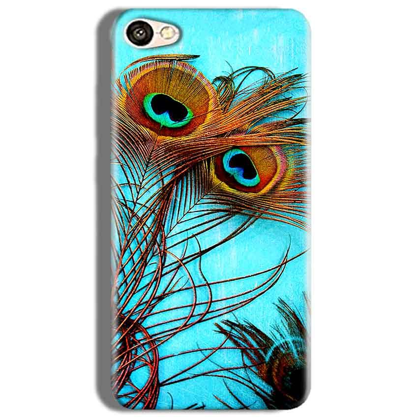 Oppo F3 Mobile Covers Cases Peacock blue wings - Lowest Price - Paybydaddy.com