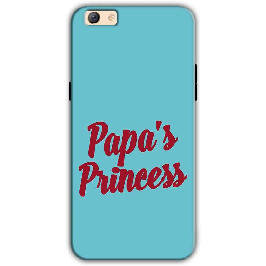Oppo F3 Plus Mobile Covers Cases Papas Princess - Lowest Price - Paybydaddy.com