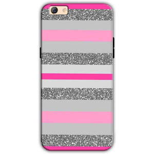 Oppo F3 Plus Mobile Covers Cases Pink colour pattern - Lowest Price - Paybydaddy.com