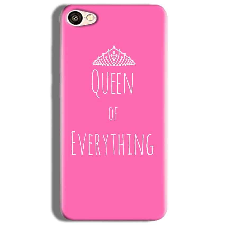 Oppo F3 Mobile Covers Cases Queen Of Everything Pink White - Lowest Price - Paybydaddy.com