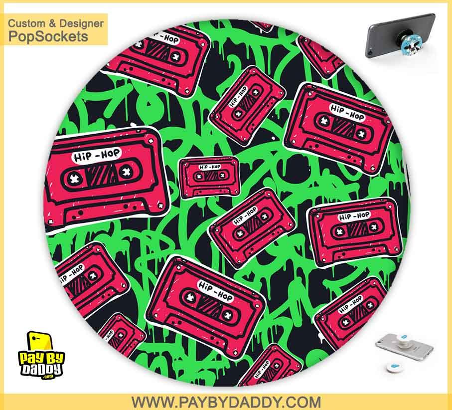 PopSockets Grip - Rap & Hip-Hop Music Cassettes  makes expanding device grips and mounts. Use them for gripping, propping, cord management, and just looking good. Use your PopSockets 50 % Discount On Sale | Free and Fast Shipping
