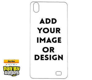 Customized Reliance LYF Water 6 Mobile Phone Covers & Back Covers with your Text & Photo
