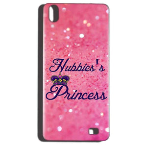 Reliance LYF Water 6 Mobile Covers Cases Hubbies Princess - Lowest Price - Paybydaddy.com