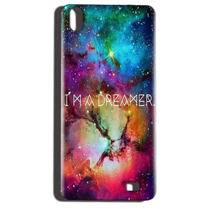 Reliance LYF Water 6 Mobile Covers Cases I am Dreamer - Lowest Price - Paybydaddy.com