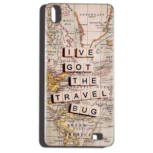 Reliance LYF Water 6 Mobile Covers Cases Live Travel Bug - Lowest Price - Paybydaddy.com