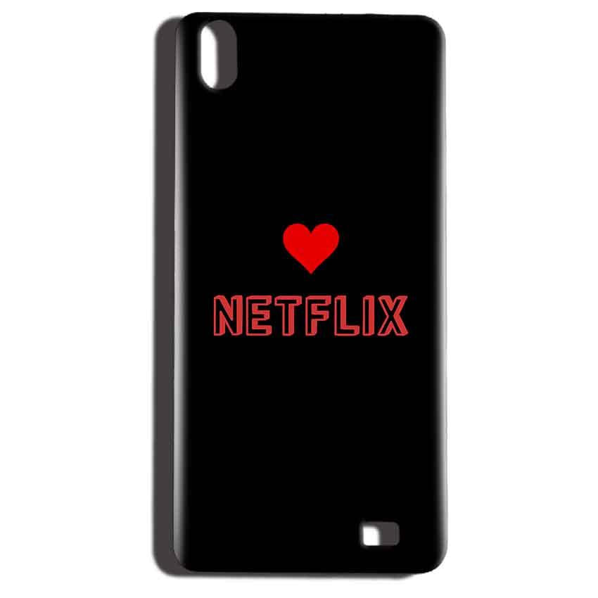 Reliance LYF Water 6 Mobile Covers Cases NETFLIX WITH HEART - Lowest Price - Paybydaddy.com