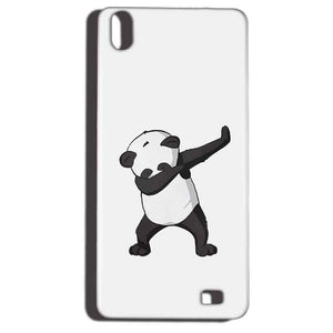 Reliance LYF Water 6 Mobile Covers Cases Panda Dab - Lowest Price - Paybydaddy.com