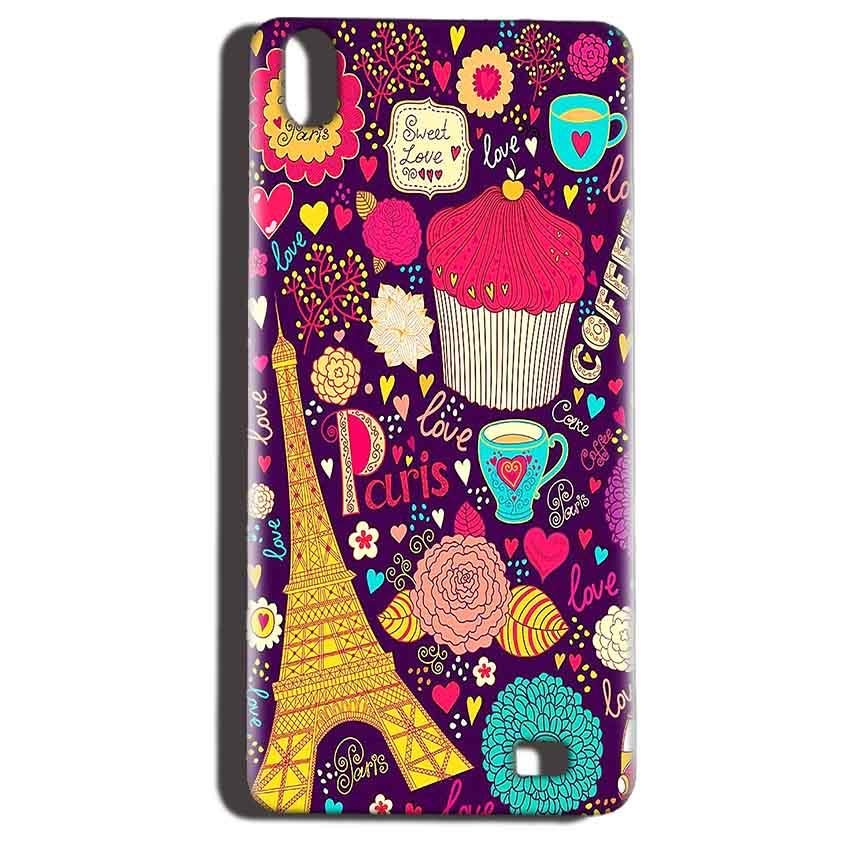 Reliance LYF Water 6 Mobile Covers Cases Paris Sweet love - Lowest Price - Paybydaddy.com