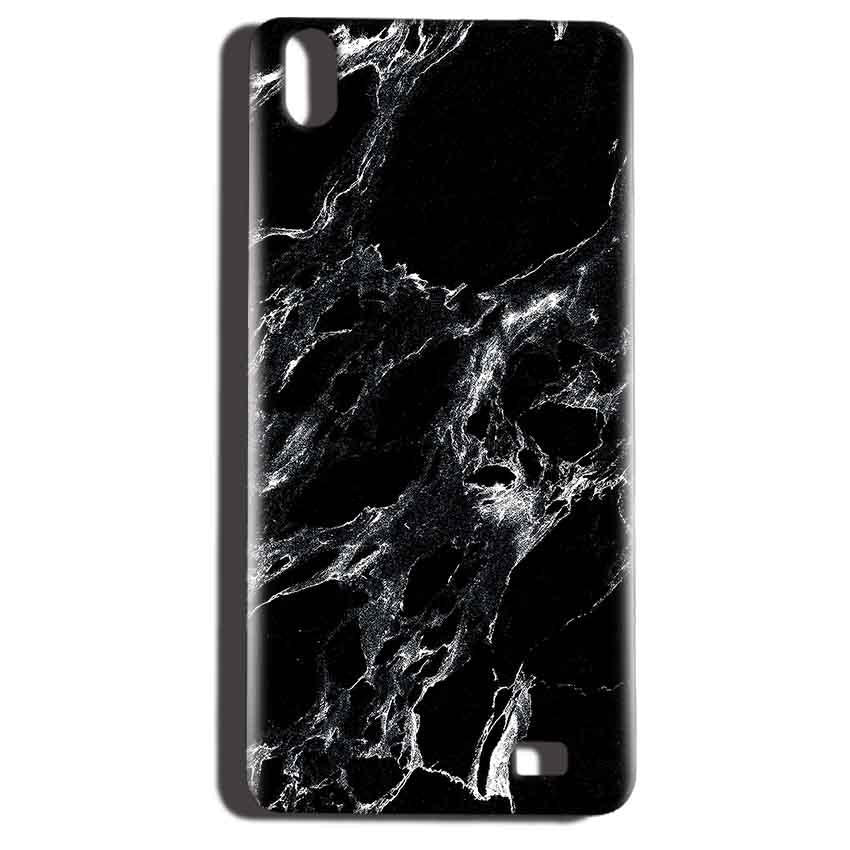 Reliance LYF Water 6 Mobile Covers Cases Pure Black Marble Texture - Lowest Price - Paybydaddy.com
