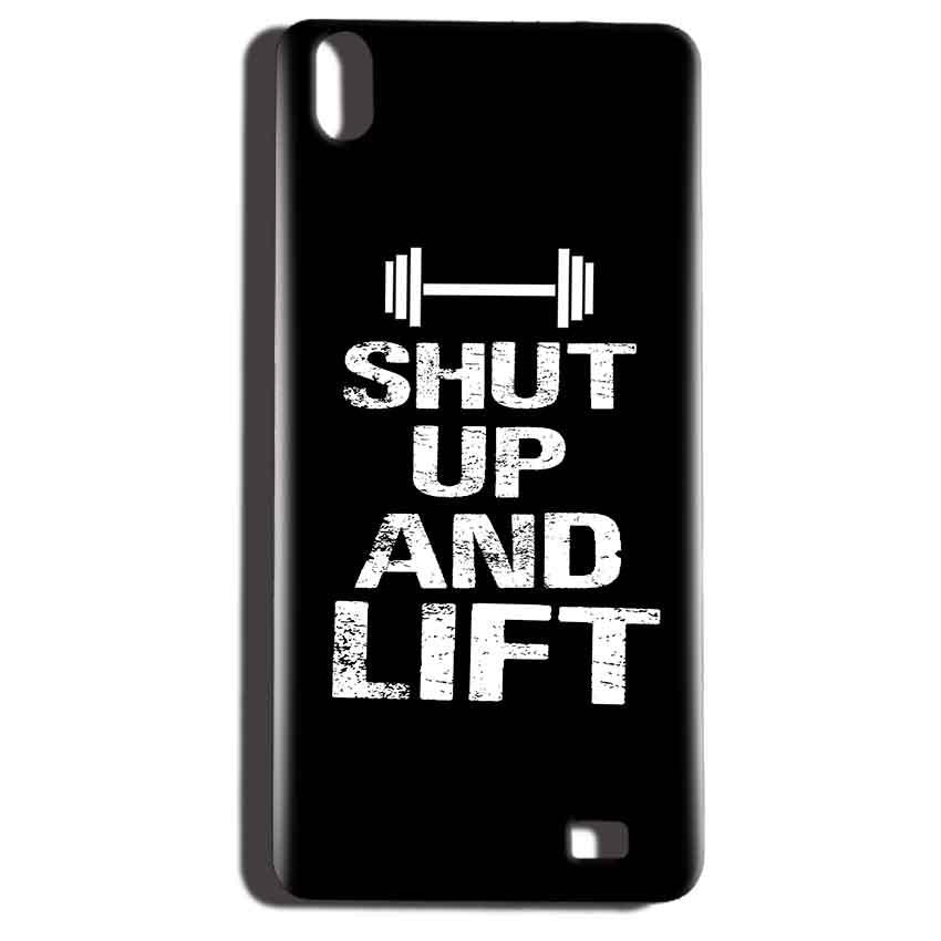 Reliance LYF Water 6 Mobile Covers Cases Shut Up And Lift - Lowest Price - Paybydaddy.com
