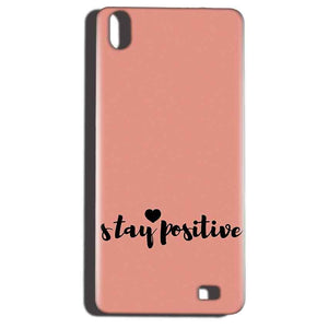 Reliance LYF Water 6 Mobile Covers Cases Stay Positive - Lowest Price - Paybydaddy.com