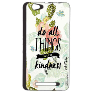 Reliance LYF Wind 1 Mobile Covers Cases Do all things with kindness - Lowest Price - Paybydaddy.com
