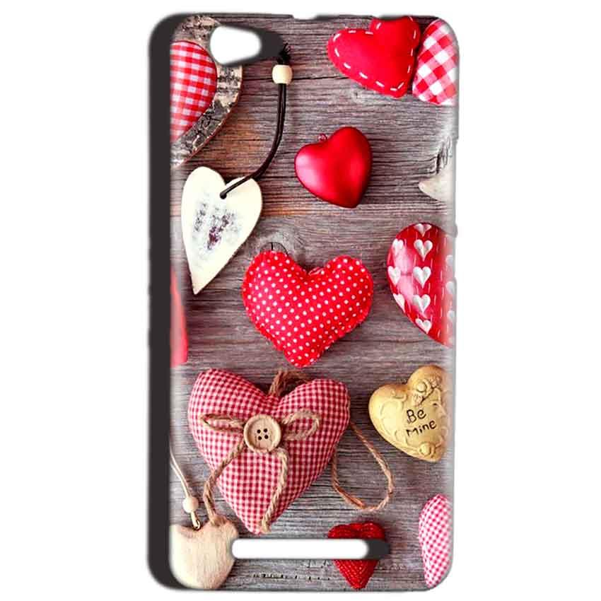Reliance LYF Wind 1 Mobile Covers Cases Hearts- Lowest Price - Paybydaddy.com