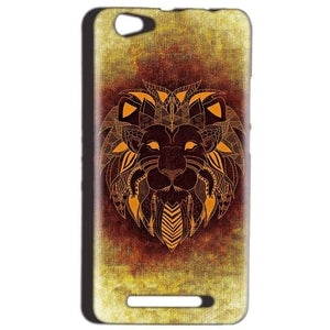 Reliance LYF Wind 1 Mobile Covers Cases Lion face art - Lowest Price - Paybydaddy.com