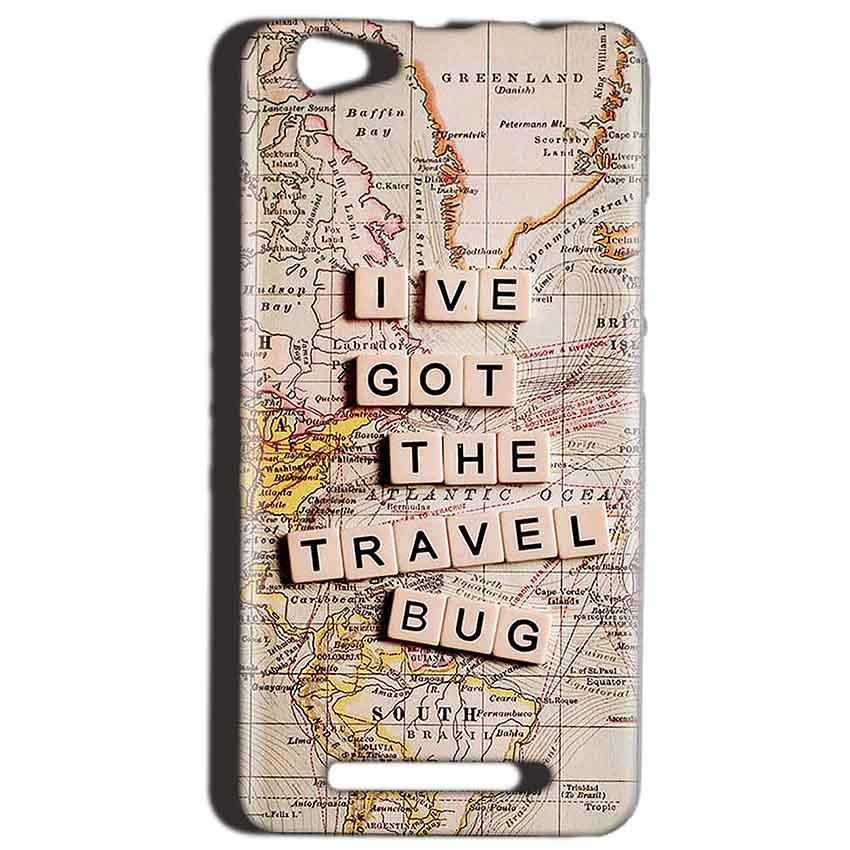 Reliance LYF Wind 1 Mobile Covers Cases Live Travel Bug - Lowest Price - Paybydaddy.com