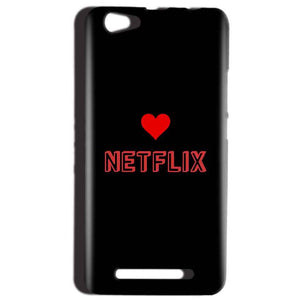 Reliance LYF Wind 1 Mobile Covers Cases NETFLIX WITH HEART - Lowest Price - Paybydaddy.com