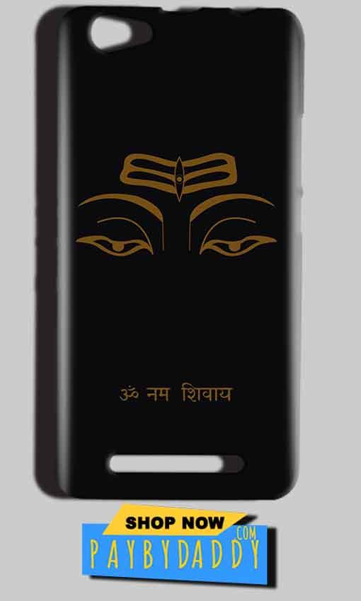 Reliance LYF Wind 1 Mobile Covers Cases Om Namaha Gold Black - Lowest Price - Paybydaddy.com