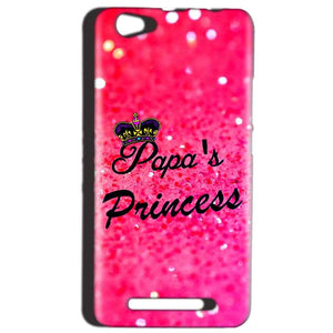 Reliance LYF Wind 1 Mobile Covers Cases PAPA PRINCESS - Lowest Price - Paybydaddy.com