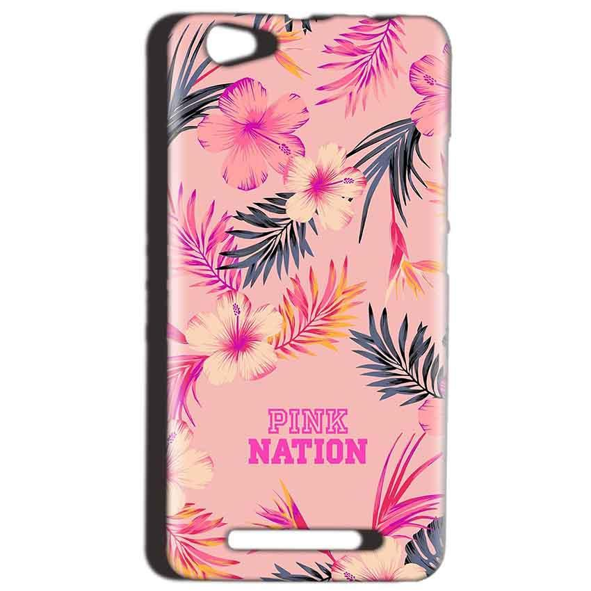 Reliance LYF Wind 1 Mobile Covers Cases Pink nation - Lowest Price - Paybydaddy.com