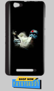 Reliance LYF Wind 1 Mobile Covers Cases Shiva Aghori Smoking - Lowest Price - Paybydaddy.com