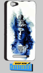 Reliance LYF Wind 1 Mobile Covers Cases Shiva Blue White - Lowest Price - Paybydaddy.com