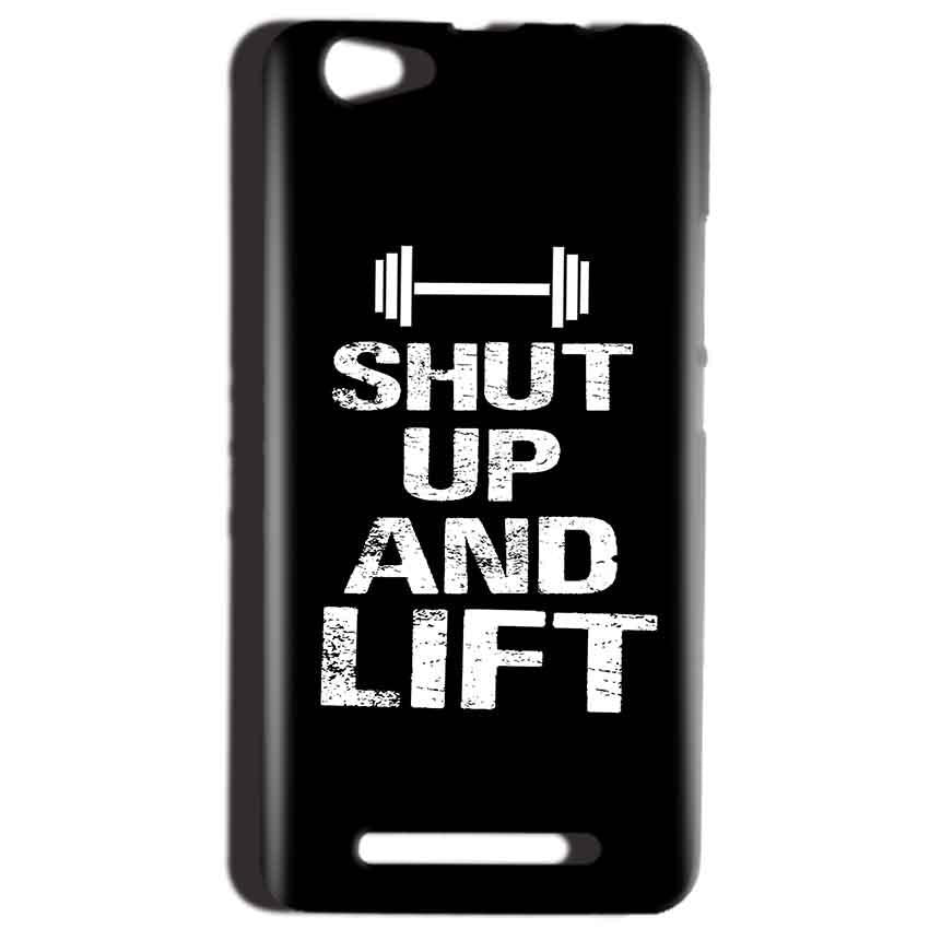 Reliance LYF Wind 1 Mobile Covers Cases Shut Up And Lift - Lowest Price - Paybydaddy.com