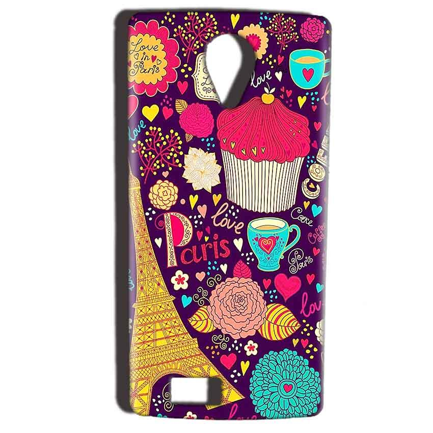 Reliance Lyf Flame 7 Mobile Covers Cases Paris Sweet love - Lowest Price - Paybydaddy.com