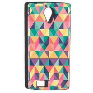 Reliance Lyf Flame 7 Mobile Covers Cases Prisma coloured design - Lowest Price - Paybydaddy.com