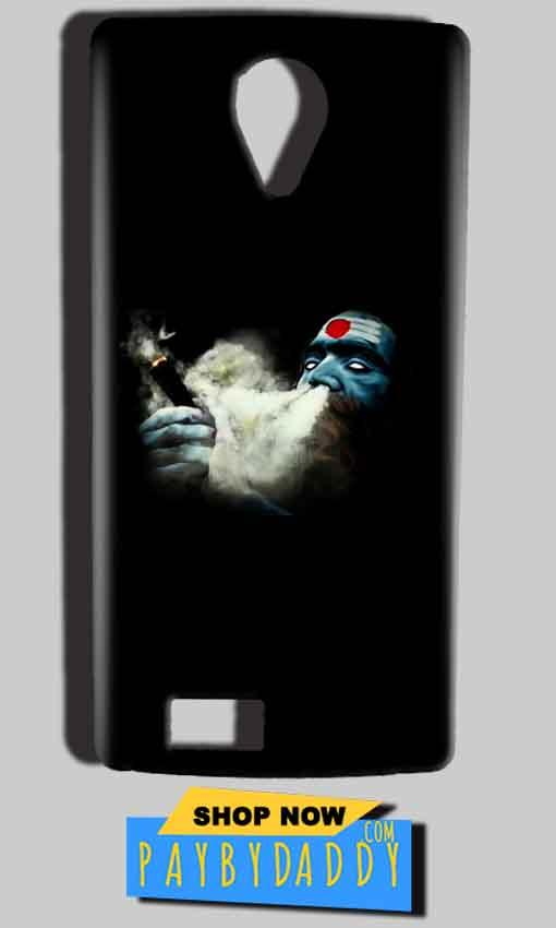 Reliance Lyf Flame 7 Mobile Covers Cases Shiva Aghori Smoking - Lowest Price - Paybydaddy.com