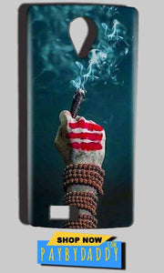 Reliance Lyf Flame 7 Mobile Covers Cases Shiva Hand With Clilam - Lowest Price - Paybydaddy.com