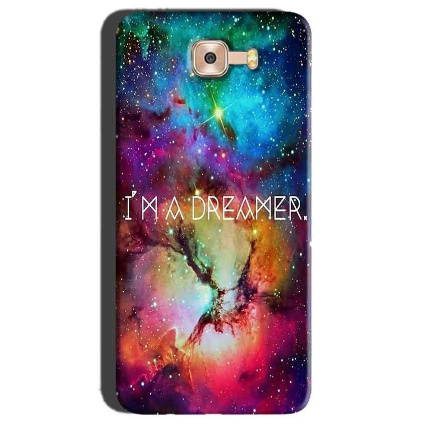 Samsung Galaxy C7 Pro Mobile Covers Cases I am Dreamer - Lowest Price - Paybydaddy.com