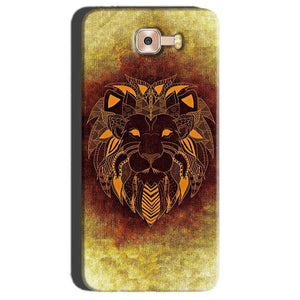 Samsung Galaxy C7 Pro Mobile Covers Cases Lion face art - Lowest Price - Paybydaddy.com