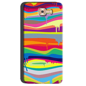 Samsung Galaxy C7 Pro Mobile Covers Cases Melted colours - Lowest Price - Paybydaddy.com