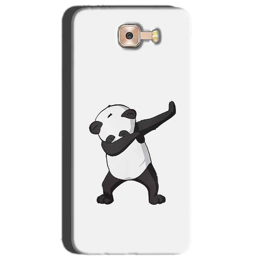 Samsung Galaxy C7 Pro Mobile Covers Cases Panda Dab - Lowest Price - Paybydaddy.com