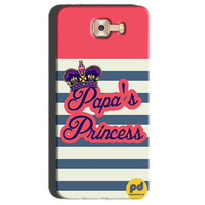 Samsung Galaxy C7 Pro Mobile Covers Cases Papas Princess - Lowest Price - Paybydaddy.com