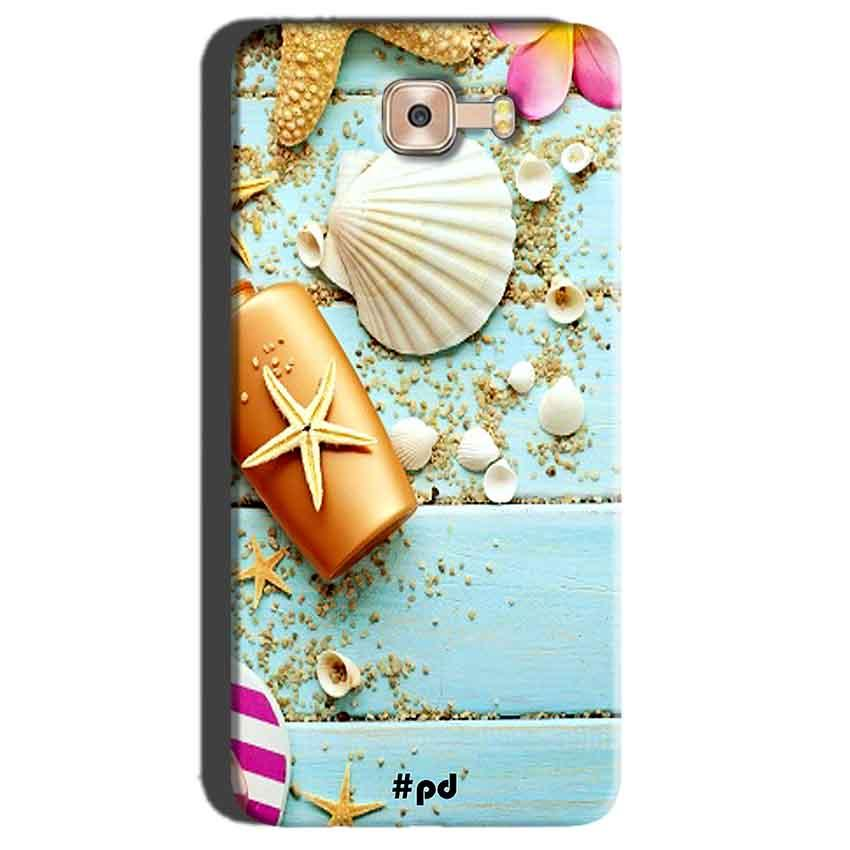 Samsung Galaxy C7 Pro Mobile Covers Cases Pearl Star Fish - Lowest Price - Paybydaddy.com