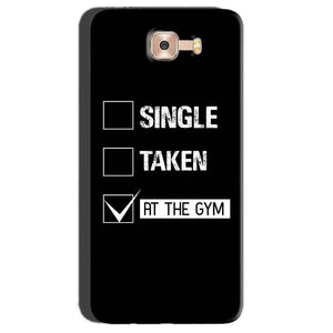Samsung Galaxy C7 Pro Mobile Covers Cases Single Taken At The Gym - Lowest Price - Paybydaddy.com