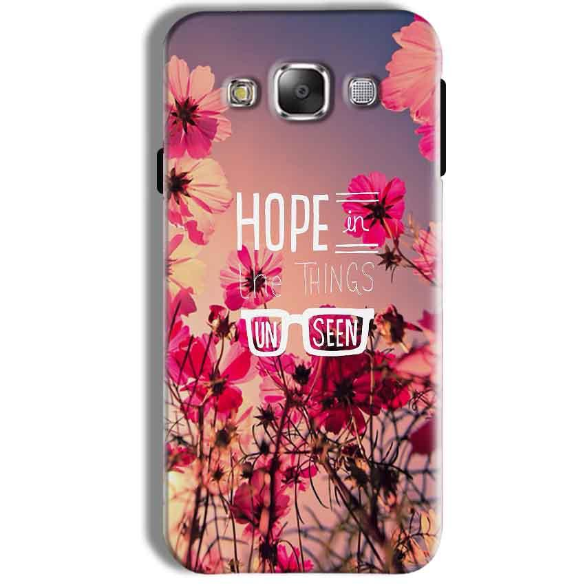 Samsung Galaxy J7 2016 Mobile Covers Cases Hope in the Things Unseen- Lowest Price - Paybydaddy.com