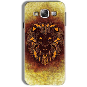 Samsung Galaxy J7 2016 Mobile Covers Cases Lion face art - Lowest Price - Paybydaddy.com