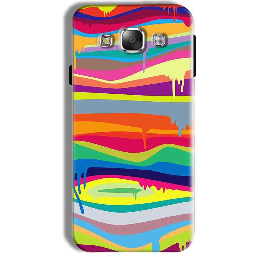 Samsung Galaxy J7 2016 Mobile Covers Cases Melted colours - Lowest Price - Paybydaddy.com