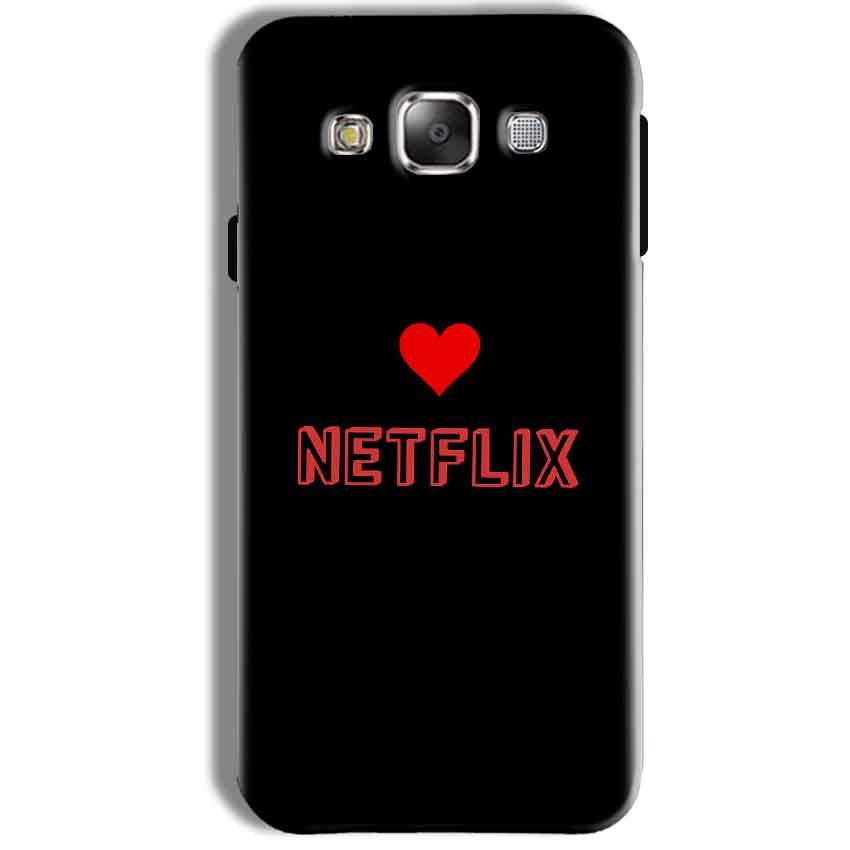 Samsung Galaxy J7 2016 Mobile Covers Cases NETFLIX WITH HEART - Lowest Price - Paybydaddy.com