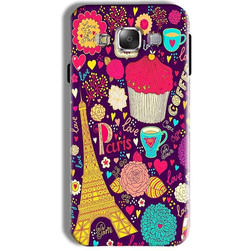 Samsung Galaxy J7 2016 Mobile Covers Cases Paris Sweet love - Lowest Price - Paybydaddy.com
