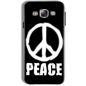 Samsung Galaxy J7 2016 Mobile Covers Cases Peace Sign In White - Lowest Price - Paybydaddy.com